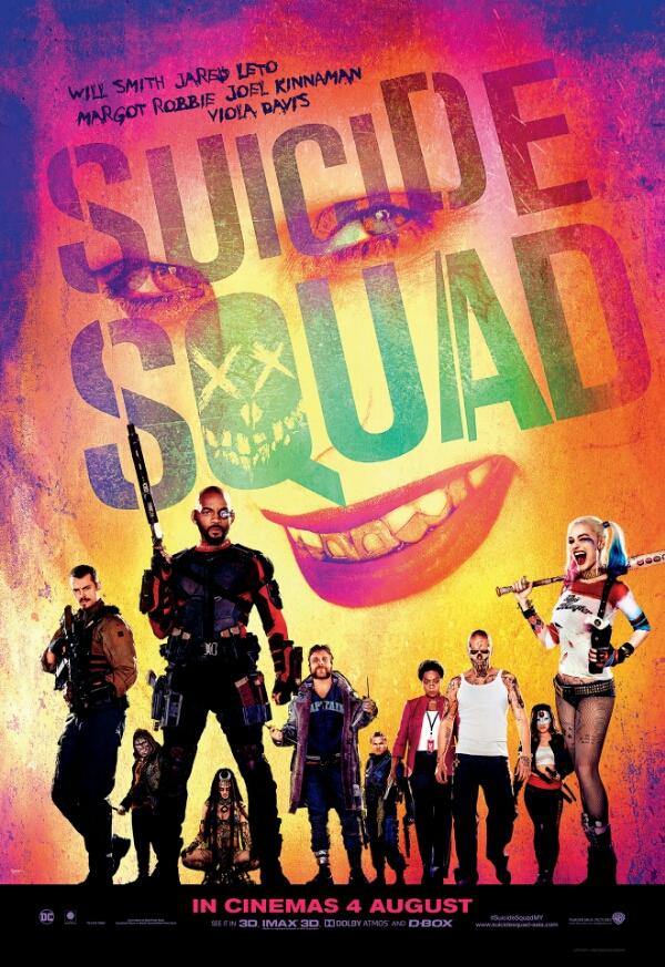 Ulasan filem: SUICIDE SQUAD
